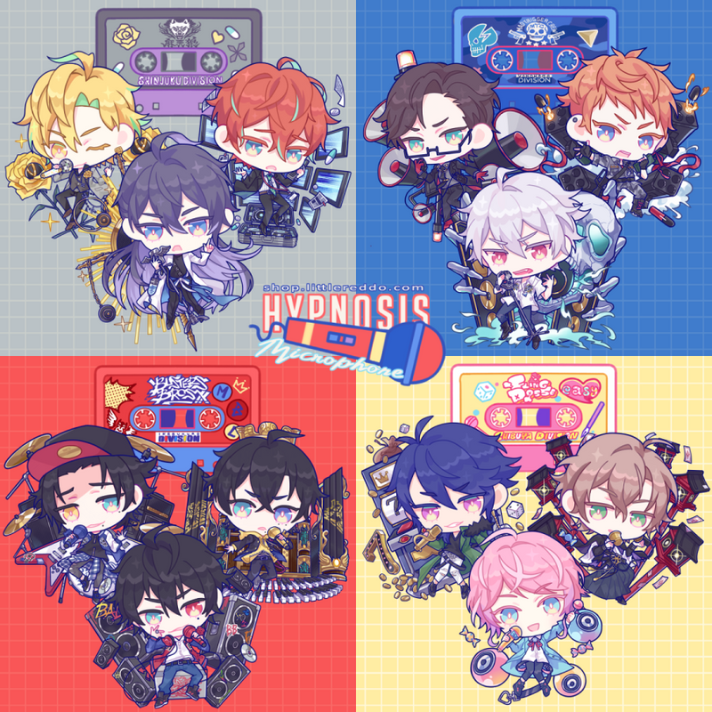 Keychain: HYPNOSIS MIC (CLOSED)