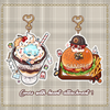 Keychain : Knb Career Cafe Set A
