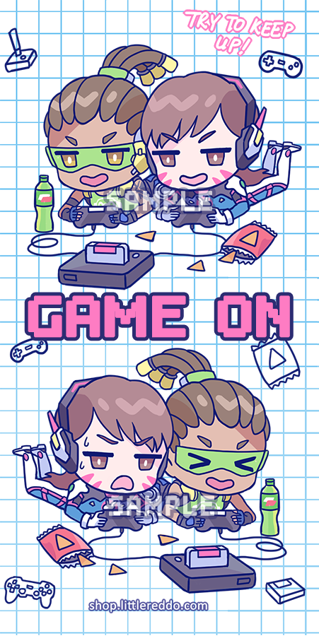 OVERWATCH: GAME ON Keychain