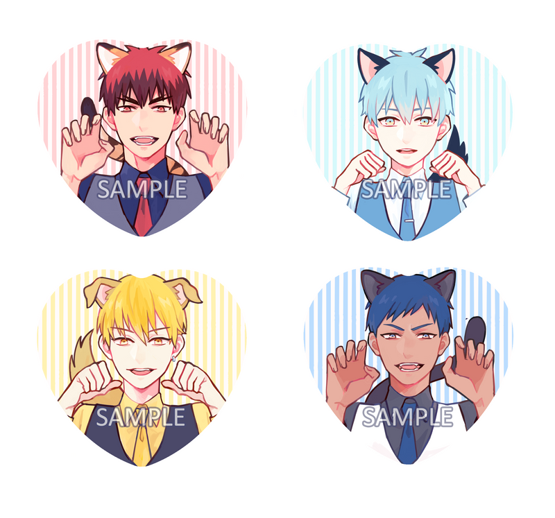 Buttons: Knb Cats and Dogs [LAST CHANCE!]