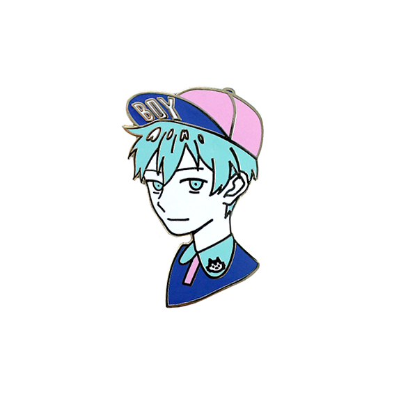 Enamel Pin: Fashion Boy Kuroko [LAST CHANCE!]