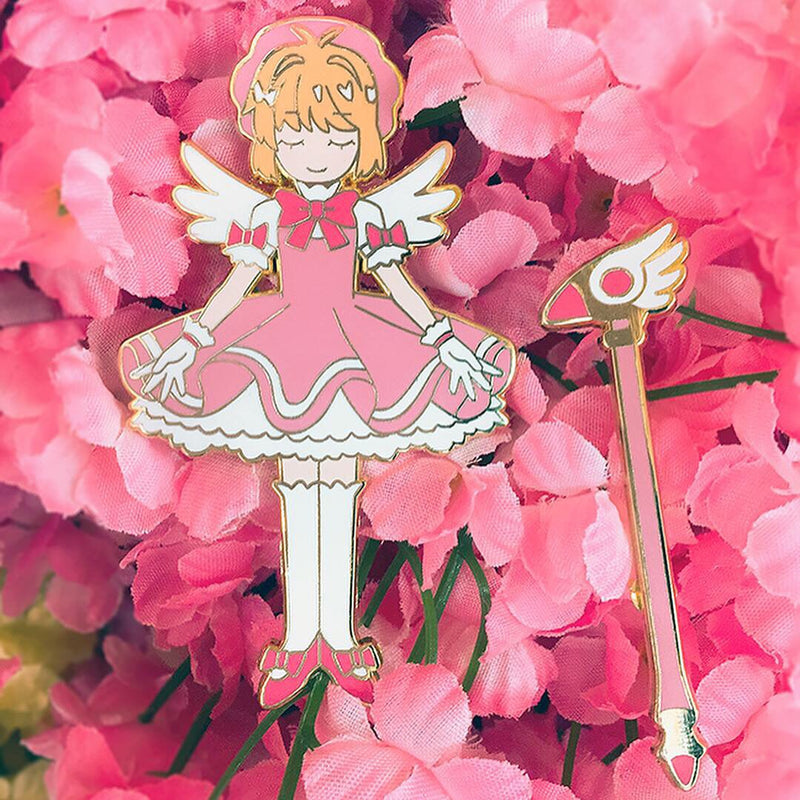 Enamel Pin: Card Captor Sakura (CLOSED)