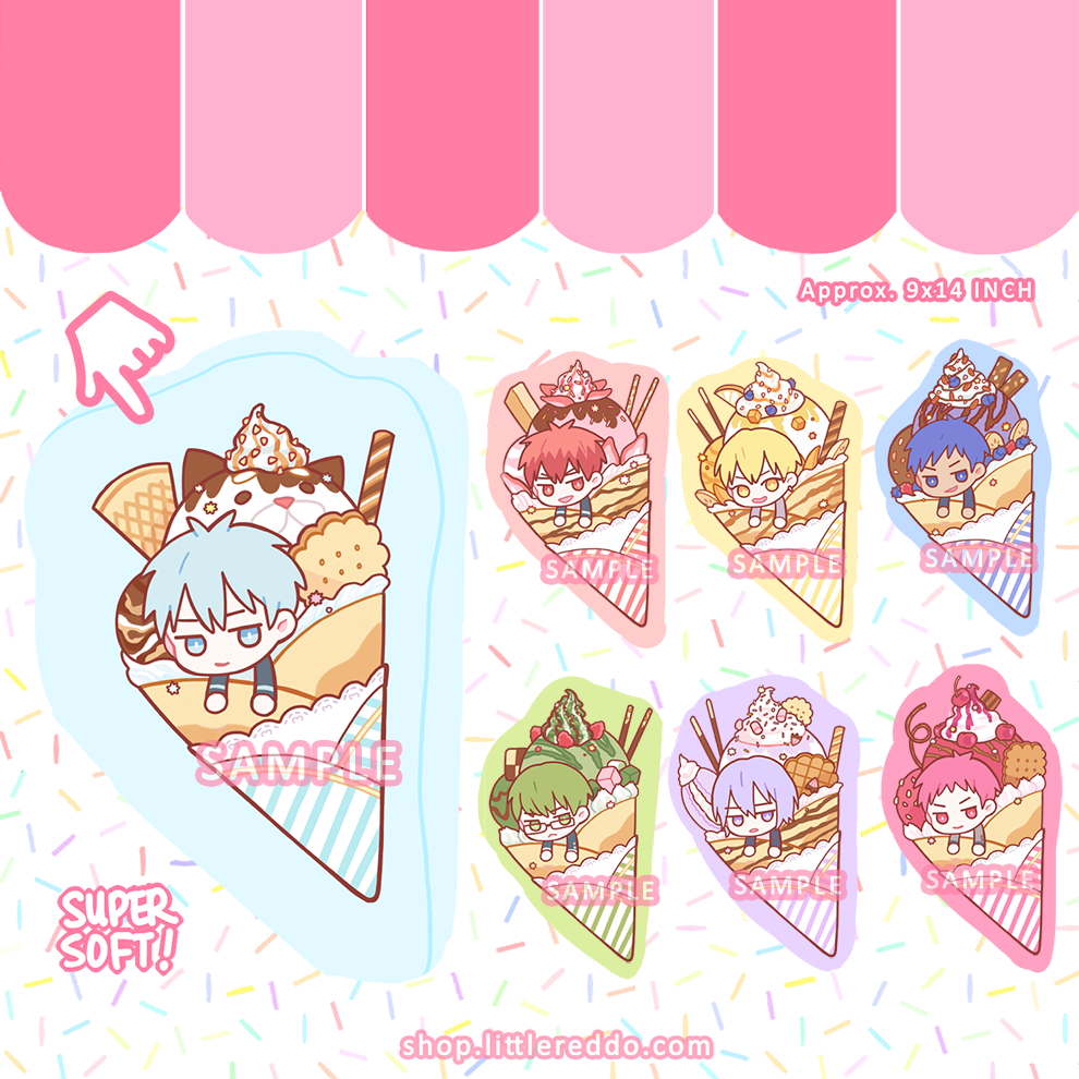 KNB: Crepe Pastry Pillow Plush [LAST CHANCE!]
