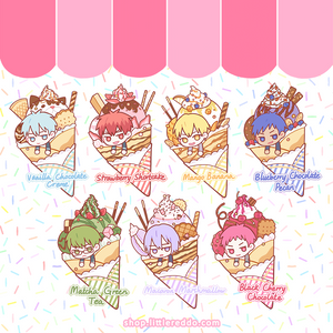 KNB: Crepe Pastry Keychain (IN STOCK)