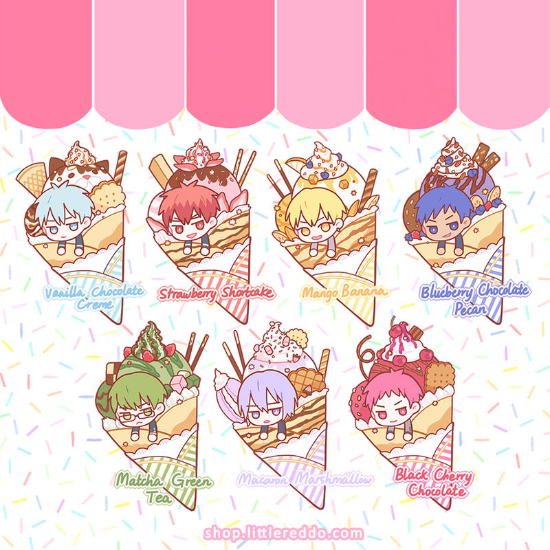 KNB: Crepe Pastry Keychain [LAST CHANCE!]
