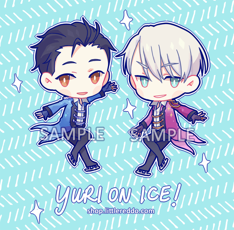 Keychain: YOI Yuri and Viktor [LAST CHANCE]