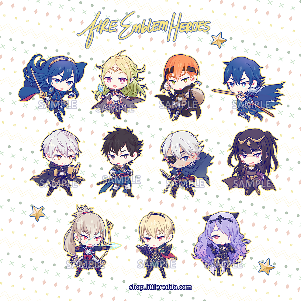 Fire Emblem Heroes Keychains