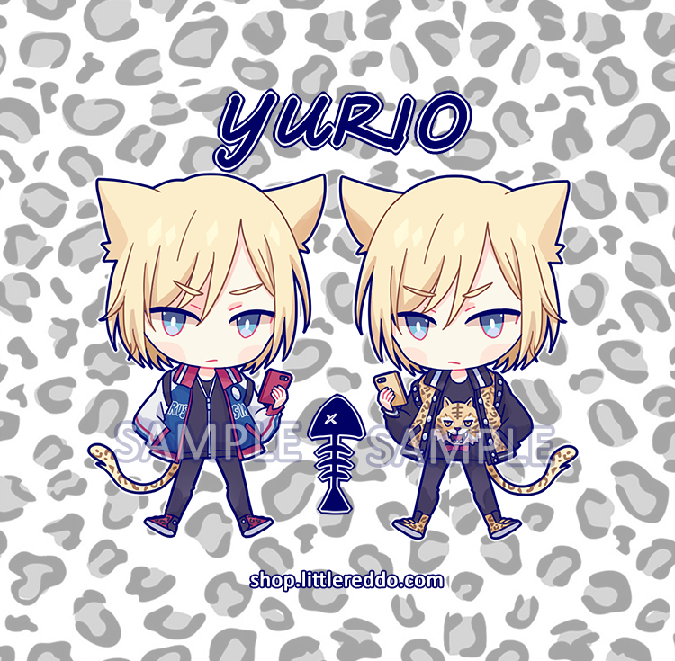 Cat Yurio Keychain [LAST CHANCE]