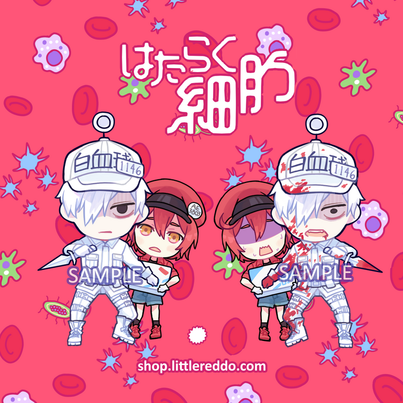 Keychain: Cells at Work [LAST CHANCE!]