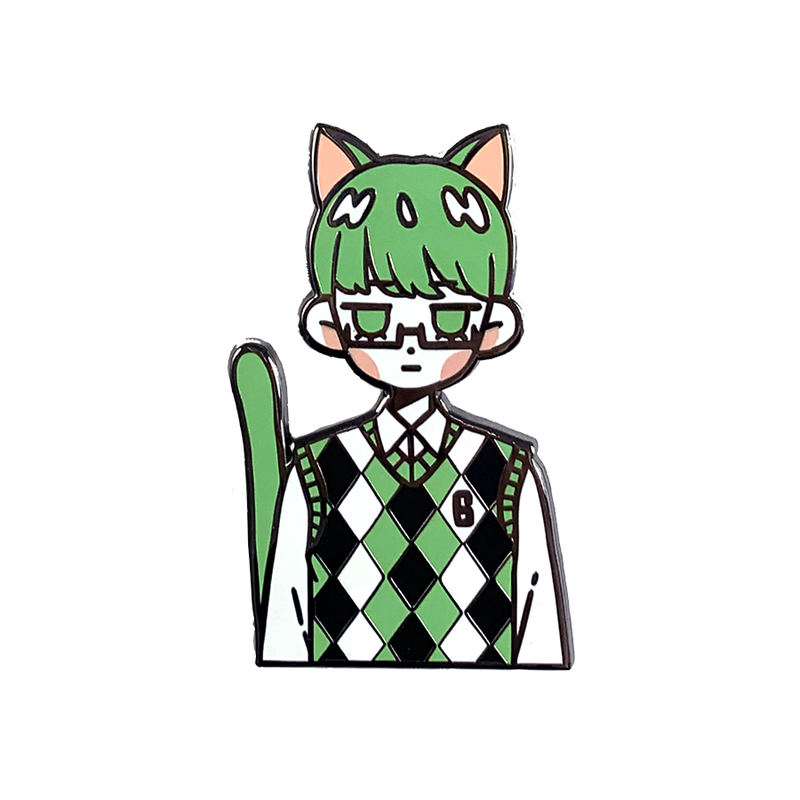 KNB: Cat Midorima Pin