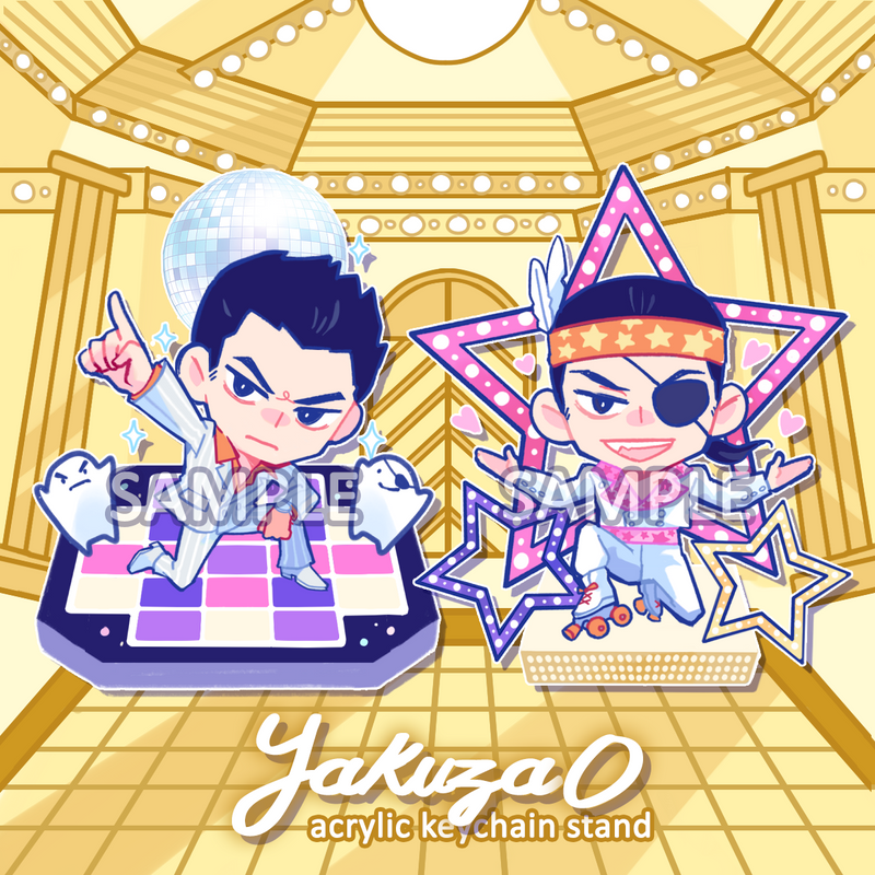 Acrylic Stand: Yakuza 0 (CLOSED)