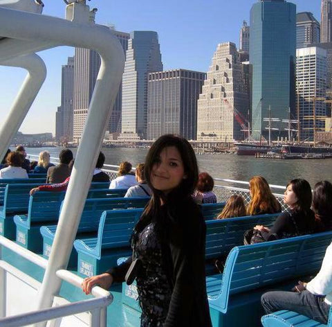 Me in the Big Apple