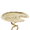 Lotus Leaf Pillar Candle Stand modern home decor  [Peetal New York]