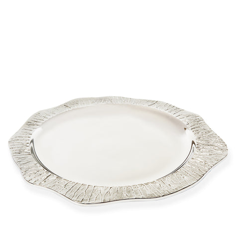 Lotus Leaf Circular Serving Tray