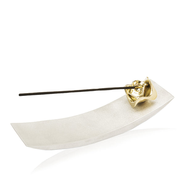 Lotus Flower Arch Incense Stand - Peetal New York