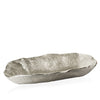 Lotus Leaf Centre Piece in Elegant Silver - Peetal New York