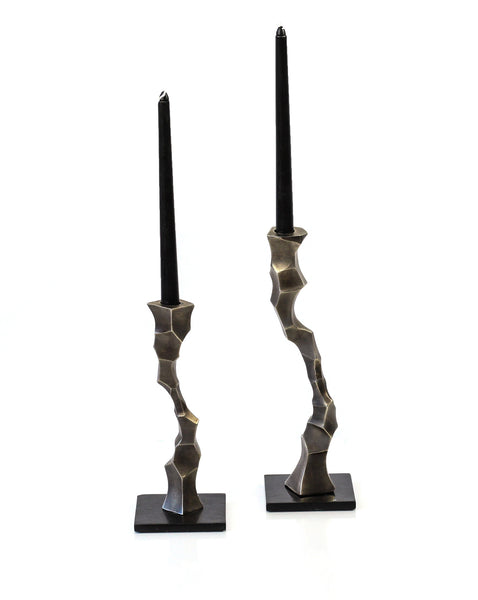 Shop sculptural Taper Candle Stand you will love | Peetal and Carissa modern home decor  [Peetal New York]