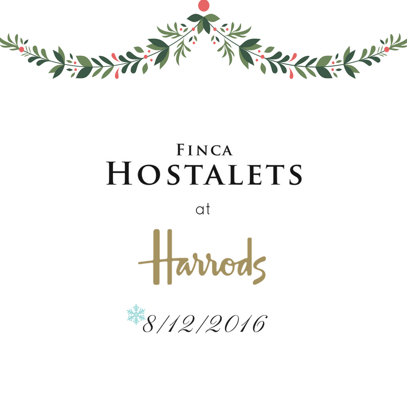 Finca Hostalets at Harrods