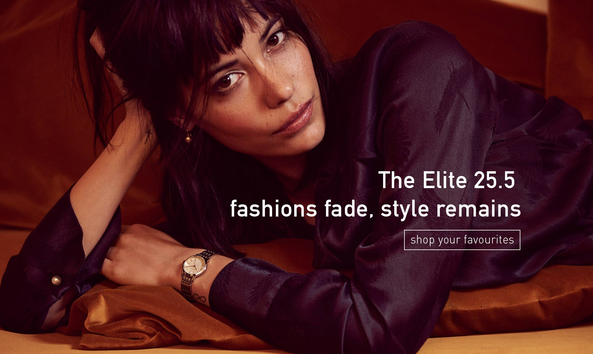 The Elite 25.5   fashions fade, style remains