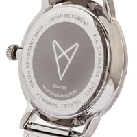 Elite Day Date Silver Milanese