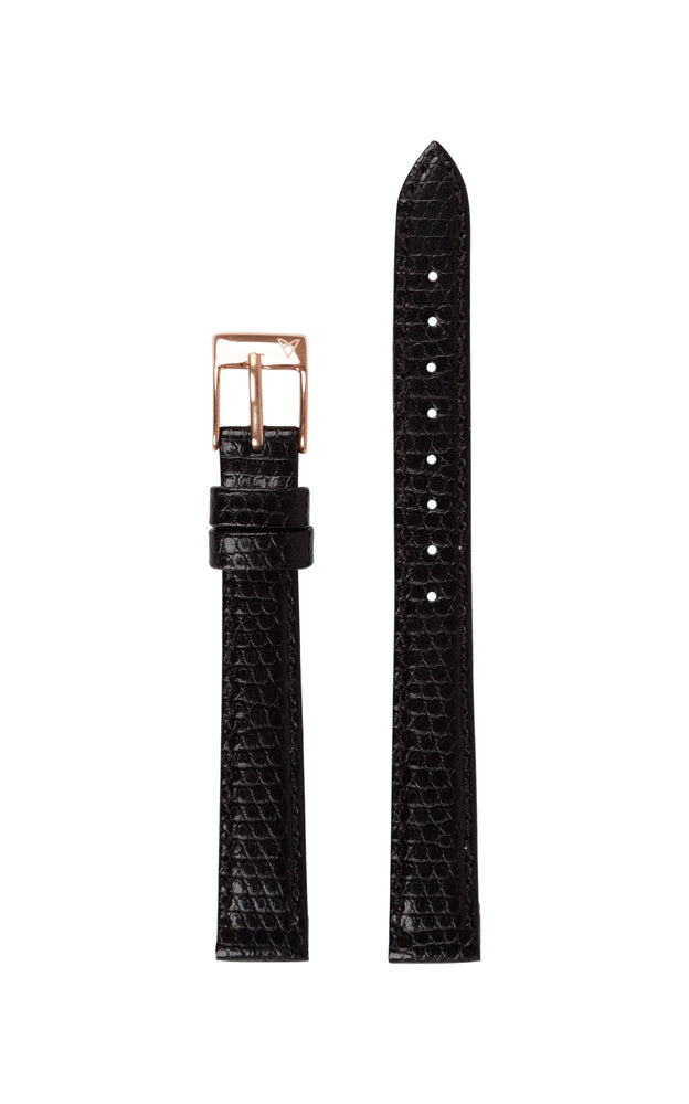 Elite 25.5 Black Lizard Strap 1