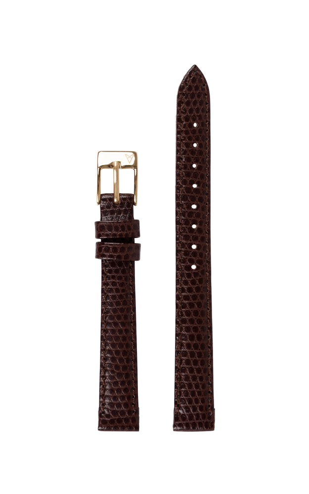 Elite 25.5 Brown Lizard Strap 1