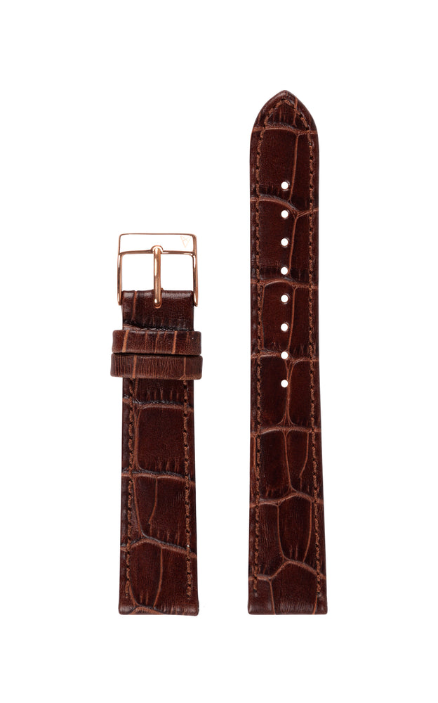Elite 35.5 Brown Croco Strap 1