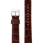 Elite 35.5 Brown Croco Strap