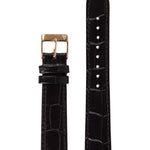 Elite 35.5 Black Croco Strap