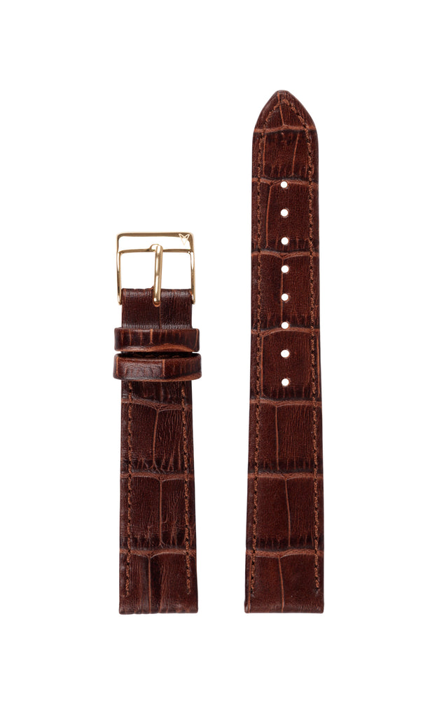 Elite 35.5 Brown Croco Strap 2