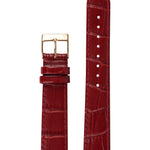 Elite 35.5 Red Croco Strap