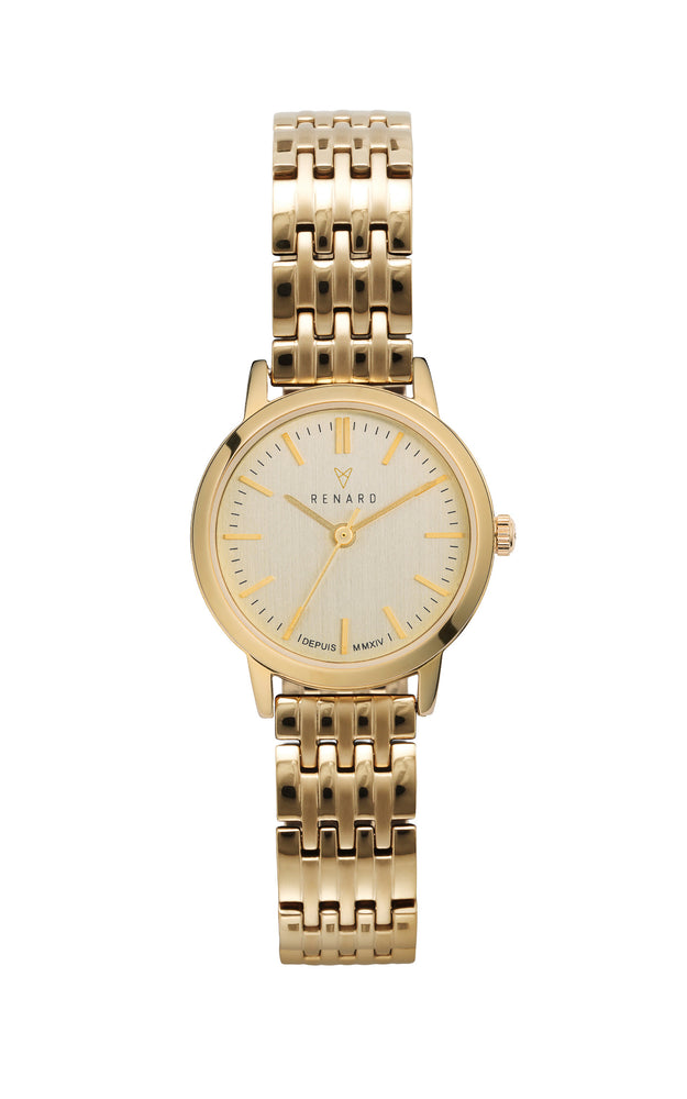Elite Champagne Gold Link Small 1