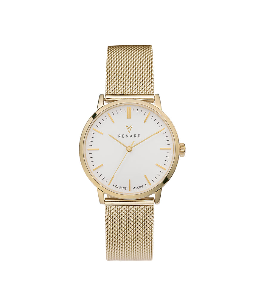 Elite 35.5 Milanese Gold White 1