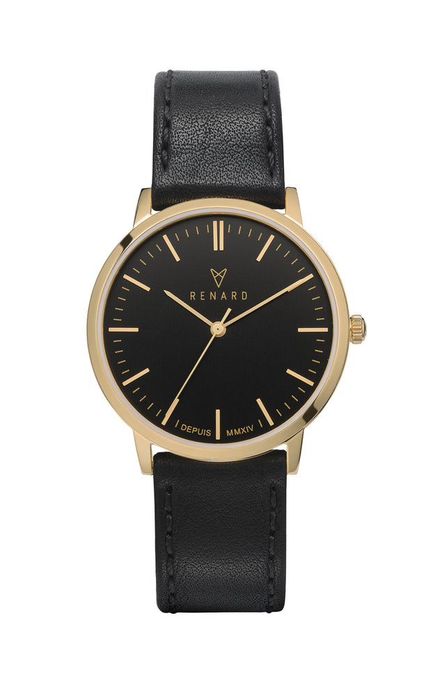 Elite Black Gold Veau Black 1