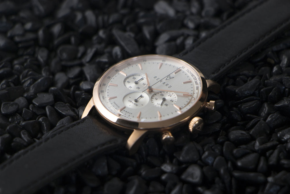 Grande Silver Rose Gold Veau Black 3