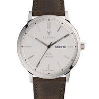 Elite Day Date Silver Olive