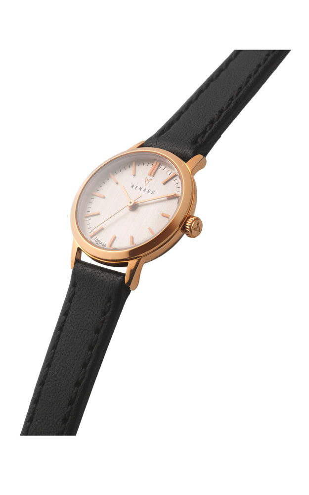 Elite Rose Gold Veau Black Small 2