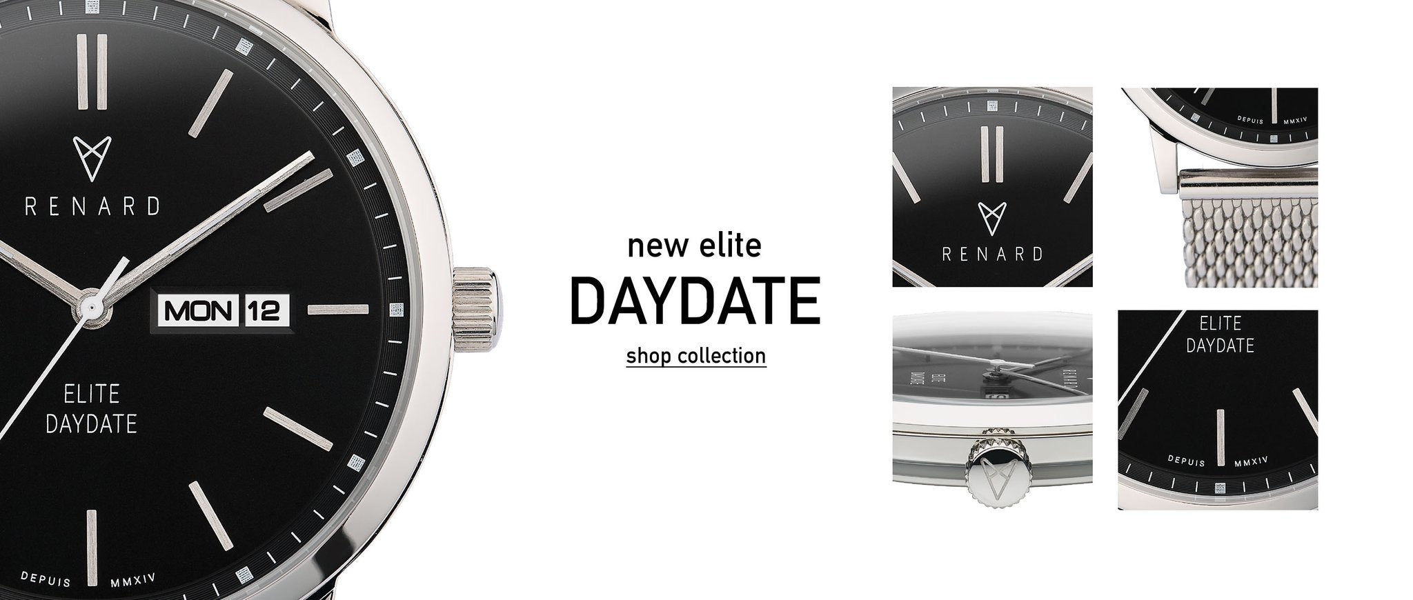We create timeless and alluring watches at affordable prices starting at €129.-