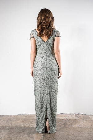 sequin Mother of the Bride dress