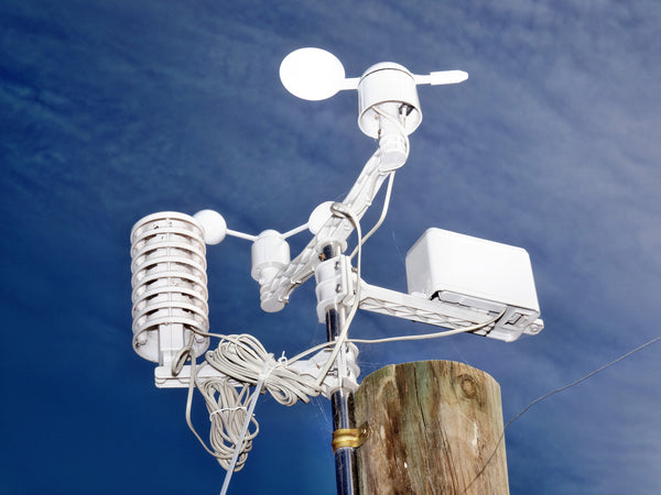 Cabled Weather Station 01 | weatherstationary.com