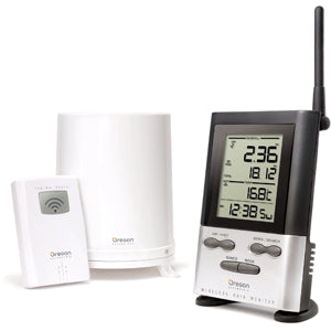 Oregon Scientific RGR126N Wireless Rain Gauge Weather Station with Thermometer | weatherstationary