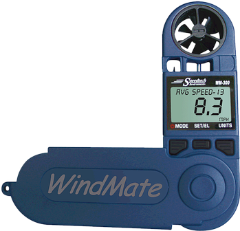 WeatherHawk WindMate WM-300 w/ Wind Direction & Relative Humidity