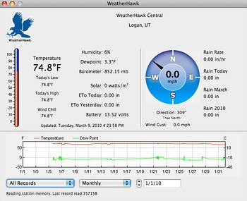 WeatherHawk-Pro Software for PC & Mac