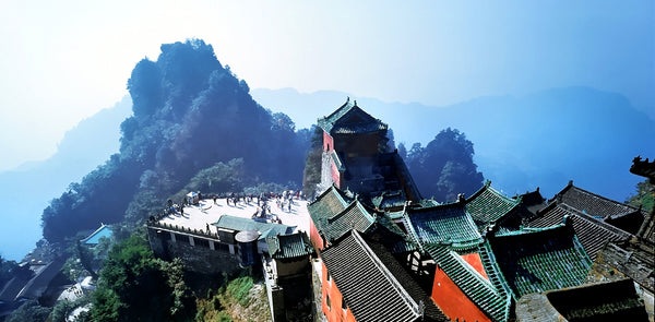 Wudang Temples Mountains