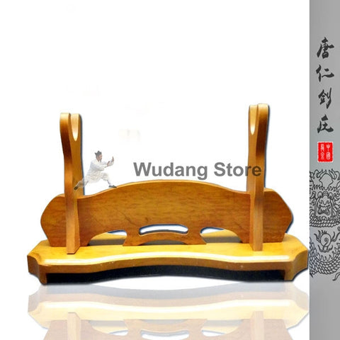 Classical Light Brown Sword Shelf - Wudang Store