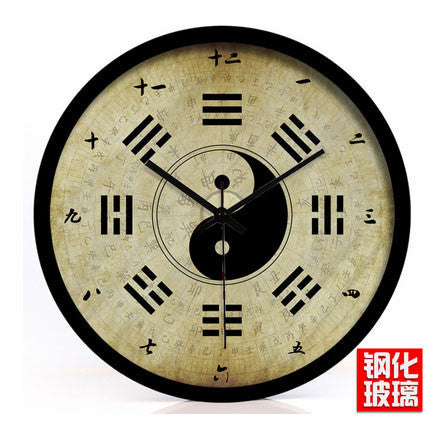 Bagua Wall Clock [3 Sizes] - Wudang Store