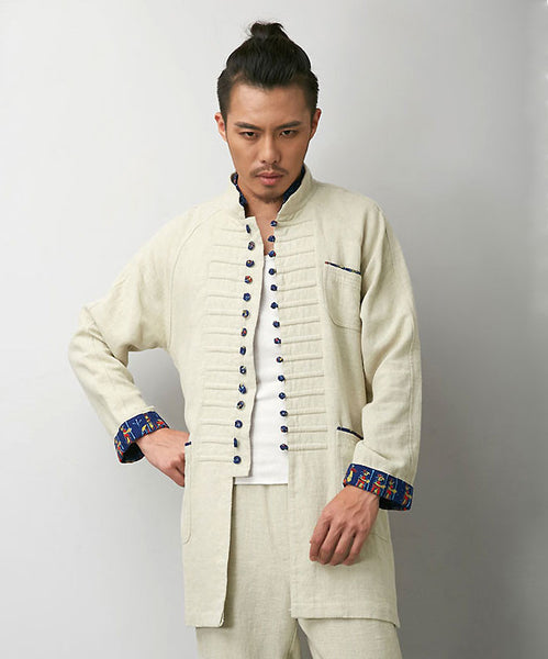 Progressive Chinese White Tai Chi Jacket