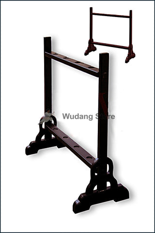 Heavy Wooden Weapon Rack Suitable For 4 Long Weapons - Wudang Store