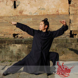 Classical Wudang Long Winter Coat - Wudang Store