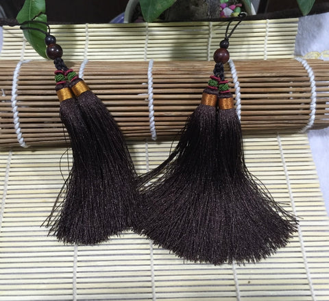 Simple Chinese Tai Chi Sword Tassel 17 Colors - Wudang Store